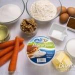 Ingredientes: harina, levadura, bicarbonato, canela, huevos, mantequilla, ...