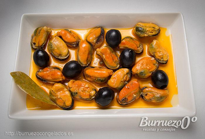 Cocinar Mejillones Congelados | Receta De Mejillones En Escabeche Burruezo 0º