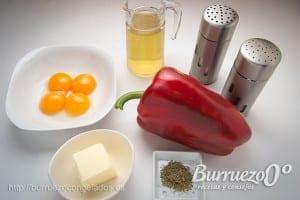 Ingredientes salsa sabayon