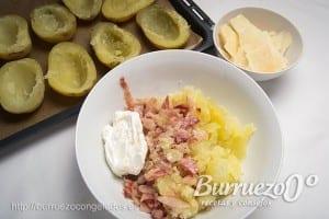 Como hacer patatas rellenas al horno