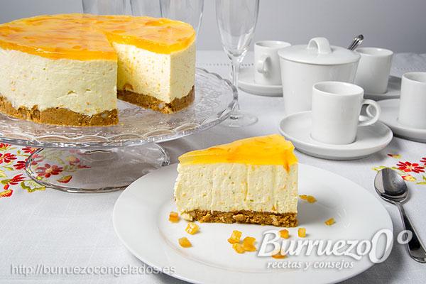 Tarta De Queso Fría Con Mascarpone Cheesecake Cítrica