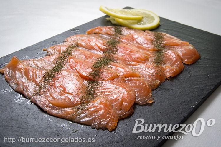 Como preparar salm n marinado o gravlax burruezo 0 for Como cocinar salmon
