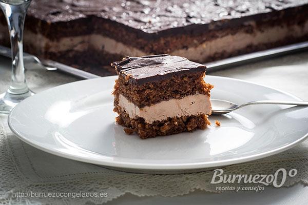 Tarta De Chocolate Con Almendra Mascarpone Y Yogurt