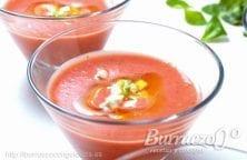 Gazpacho de fresas de Burruezo congelados