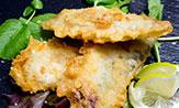Filetes de sardina en tempura