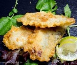 Filetes de sardina en tempura de Burruezo congelados