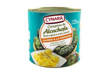 Corazón de alcachofa en aceite y especias