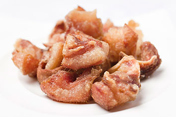 Morro de cerdo cocido